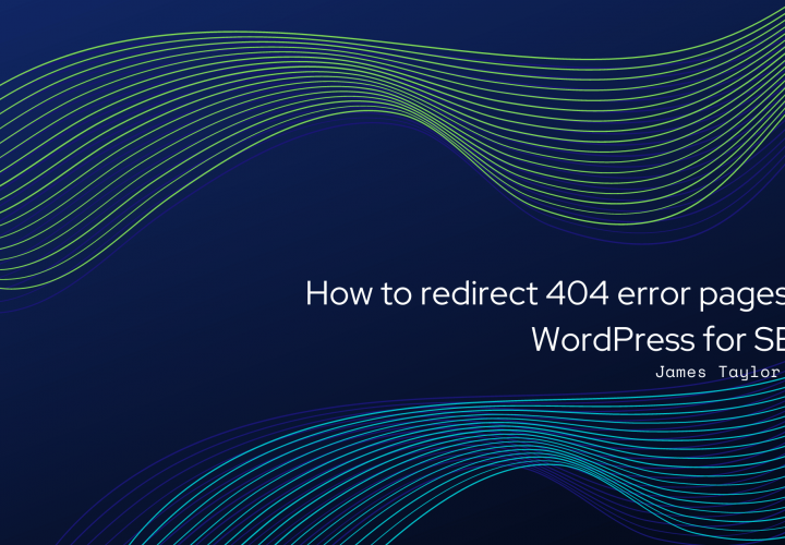 How to redirect 404 error pages in WordPress for SEO