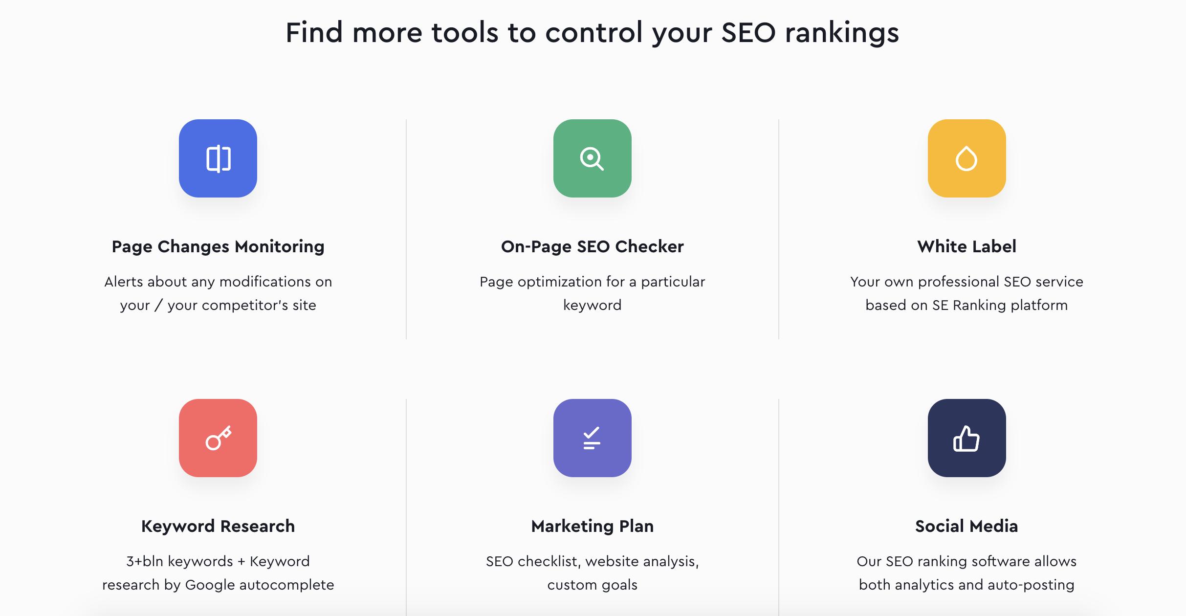 SE Ranking Screenshot