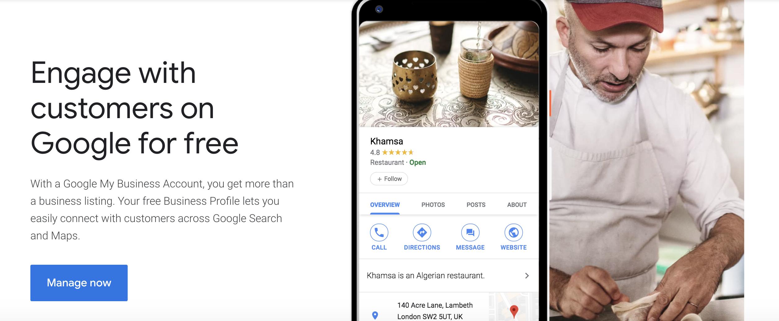 Google My Business (GMB)